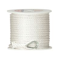 Twisted Nylon Anchor Line, 3/8'' x 100'