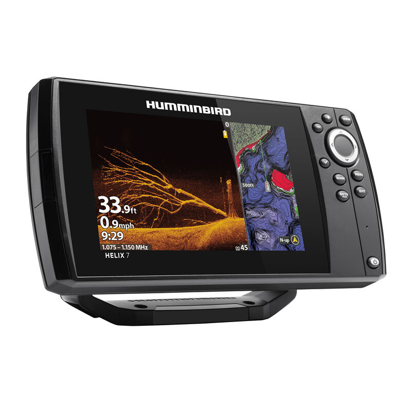 Humminbird Helix 7 CHIRP MEGA DI GPS G3N Fishfinder Chartplotter image number 2