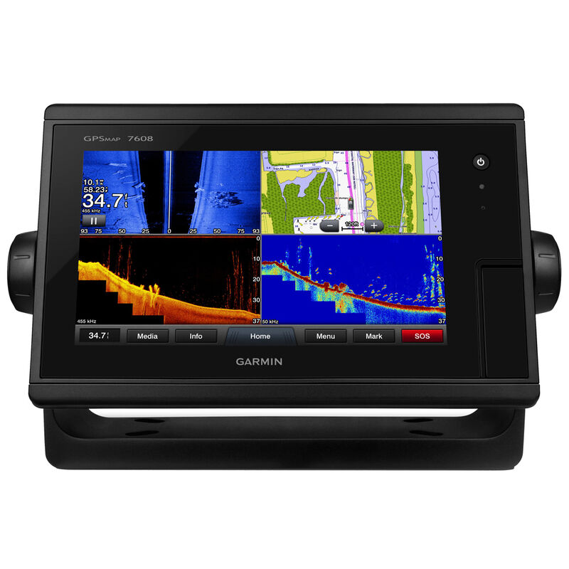 """Garmin GPSMAP 7608 8"""" Touchscreen Chartplotter With J1939 Port image number 1"""