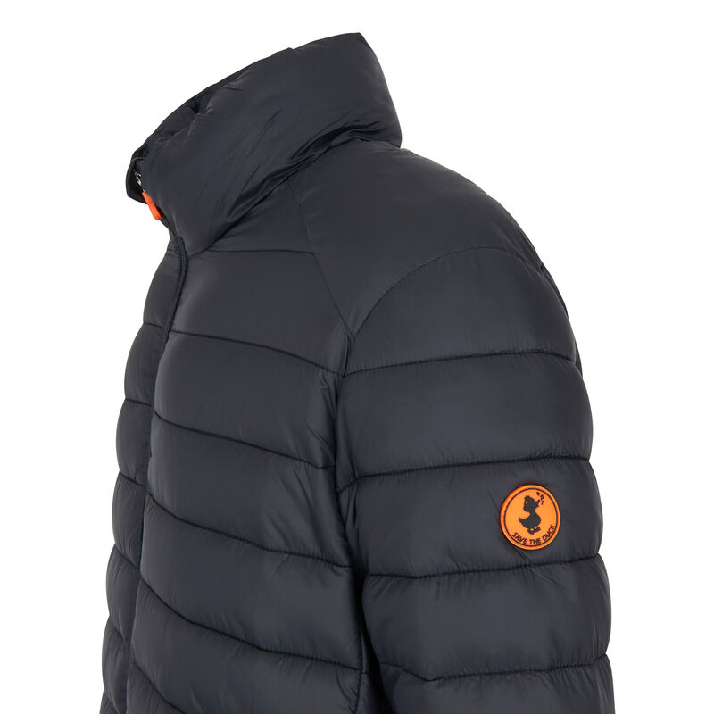 Save The Duck Men's Giga Mid Quilted Winter Coat image number 7