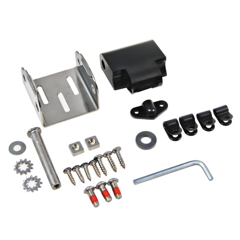 Humminbird MHX HS - Transom Plastic/Metal Mounting Bracket image number 1
