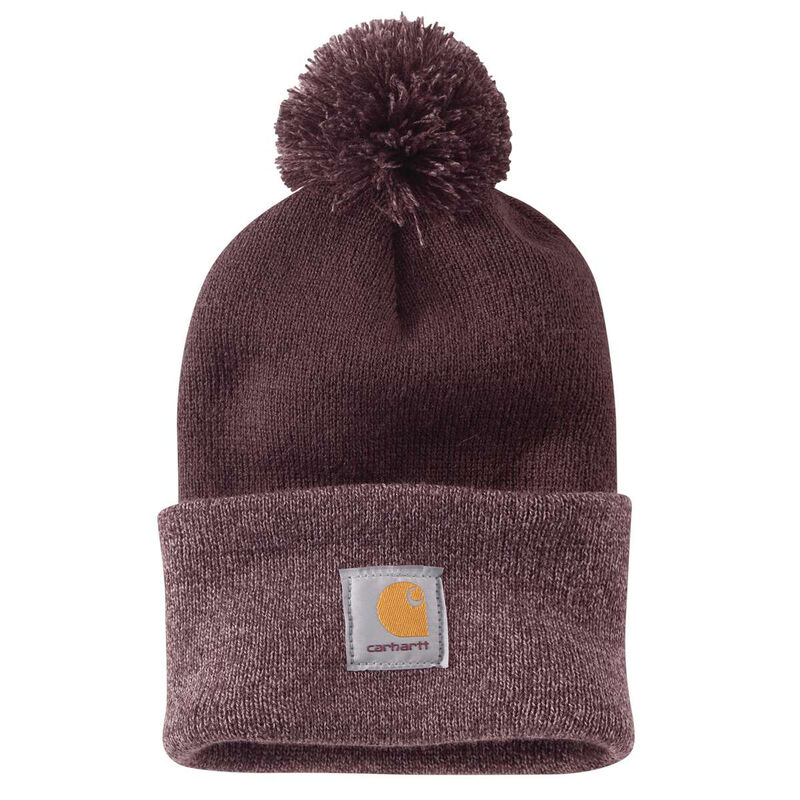 Carhartt Women's Lookout Acrylic Pom Pom Hat image number 2