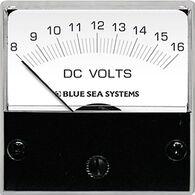 Blue Sea DC Micro Analog Voltmeter, 8-16V