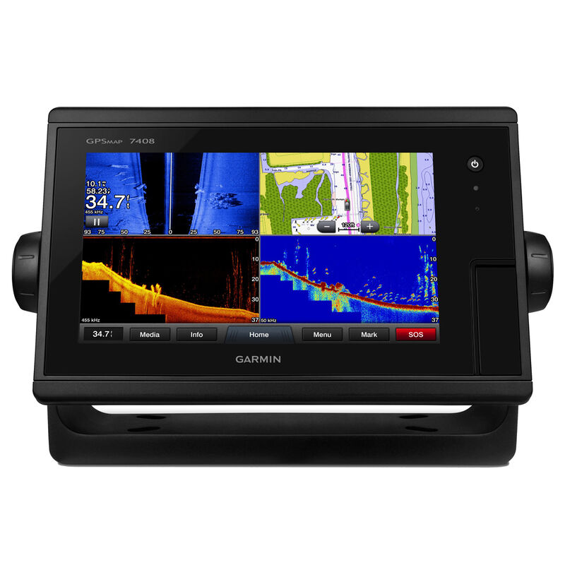 """Garmin GPSMAP 7408 8"""" Touchscreen Chartplotter With J1939 Port image number 1"""