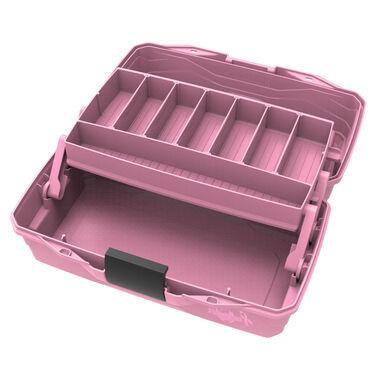 Flambeau Classic 1-Tray Tackle Box, Pink Ribbon