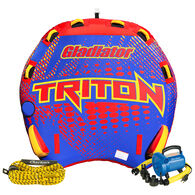 Gladiator Triton 3-Person Towable Tube Package