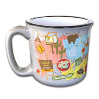 Camp Casual Mugs, Travel Map