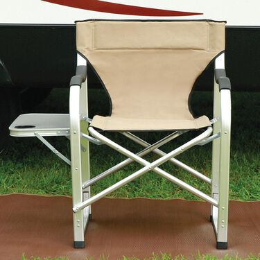 Aluminum Extra Large Director's Chair, Tan