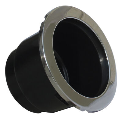 ITC Plastic Drink Holder With Stainless Steel Bezel