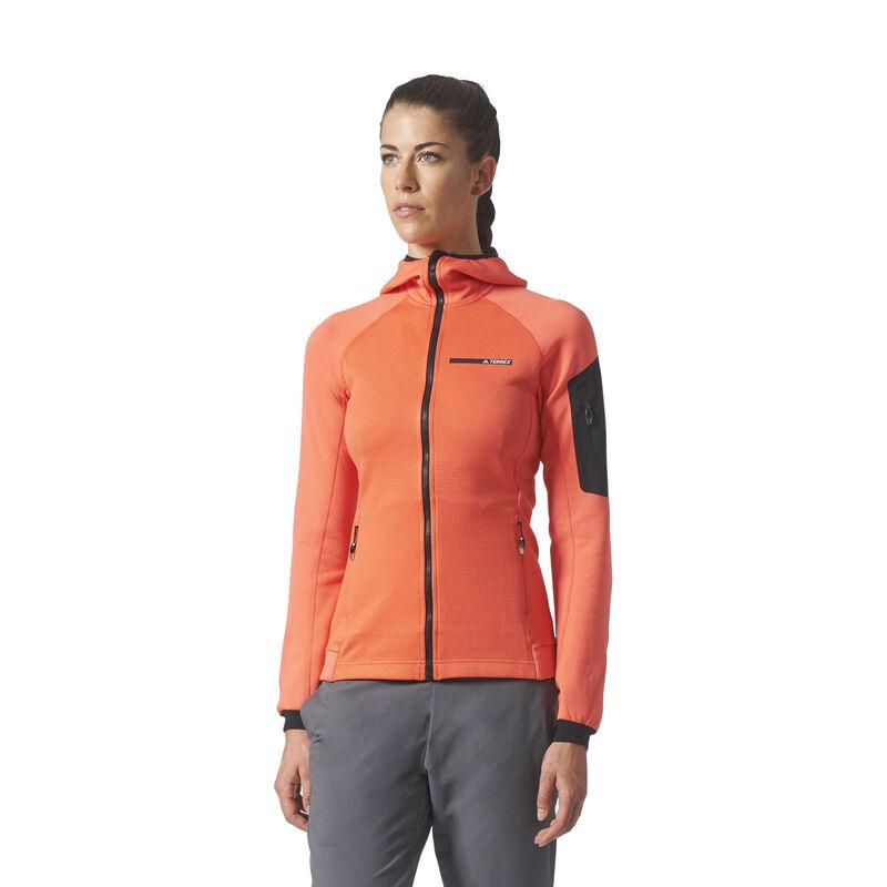Adidas Women's Terrex Stockhorn Fleece Full-Zip Hoodie image number 1