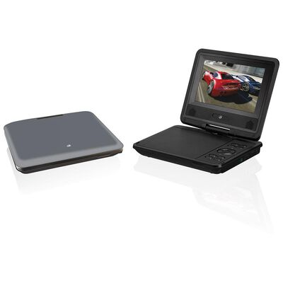 """7"""" Swivel Screen Portable DVD Player for Home and Car"""