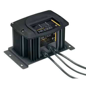 Minn Kota MK-330D Digital Onboard Charger, 3 Banks/30 Amps Total Output