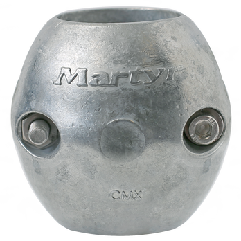 """Martyr Anodes Streamlined 1-1/4"""" Shaft Anode, Zinc"""