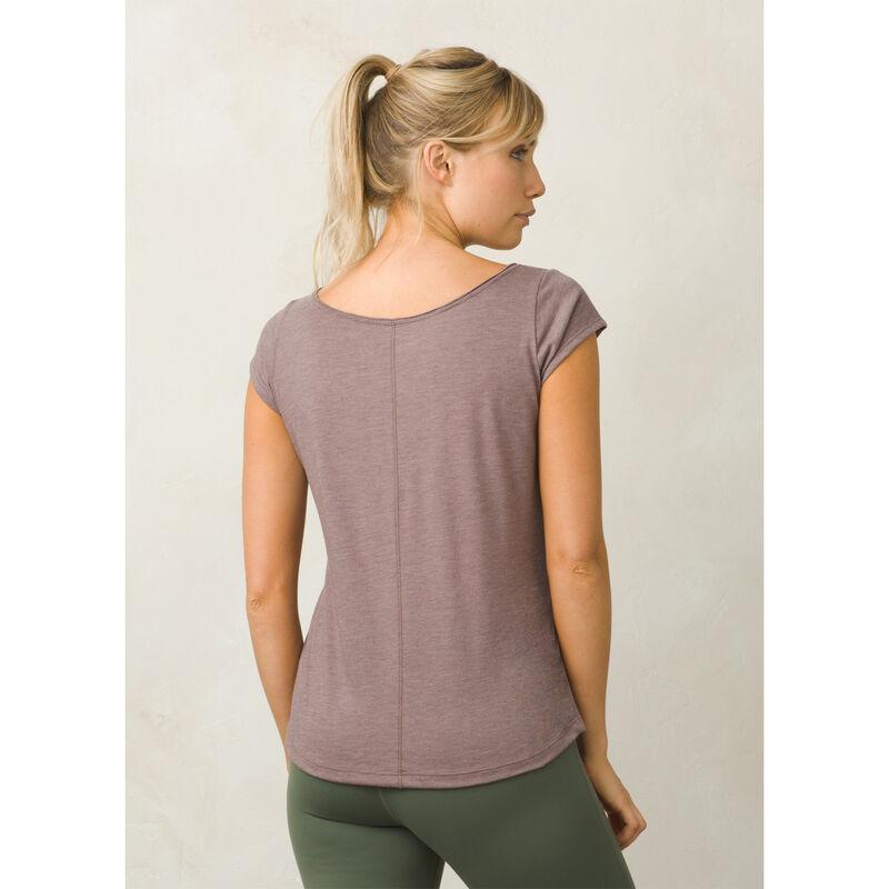 PrAna Women's Longline Short-Sleeve Tee image number 3