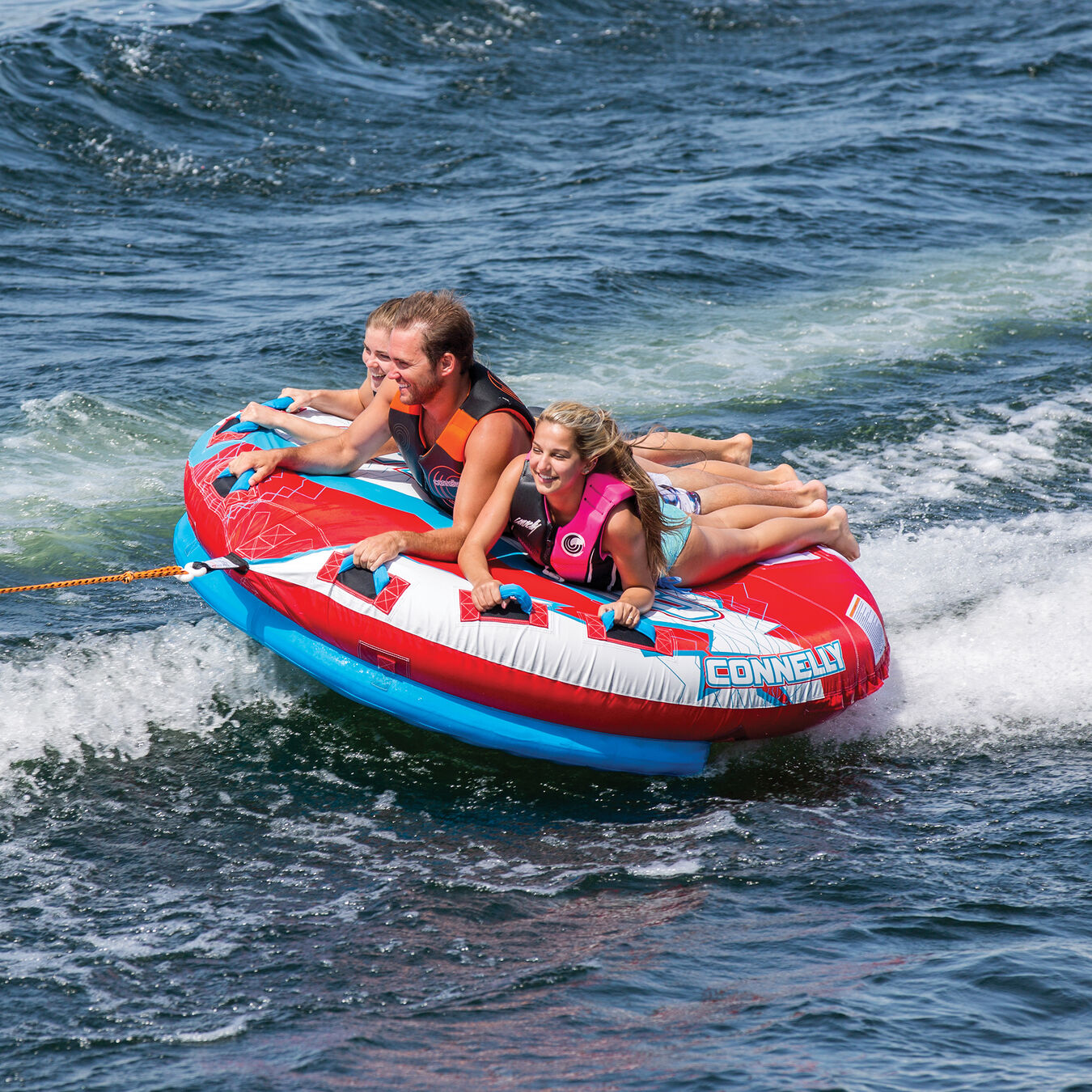 2 or 3 Person Boat Towable Tube Connelly MACH 3