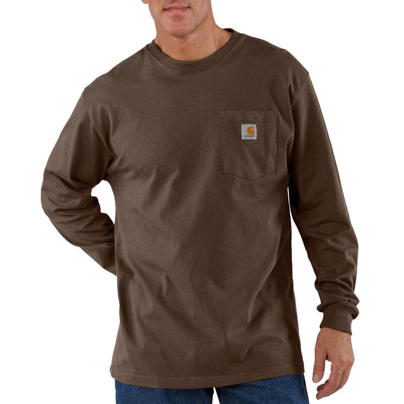 Carhartt Men's Workwear Long-Sleeve Pocket Tee image number 11