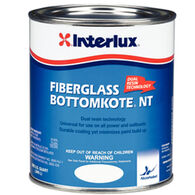 Interlux Black Fiberglass Bottomkote NT, Quart