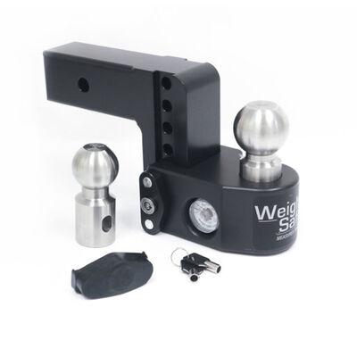 Weigh Safe Aluminum Drop Hitch w/Black Cerakote Finish