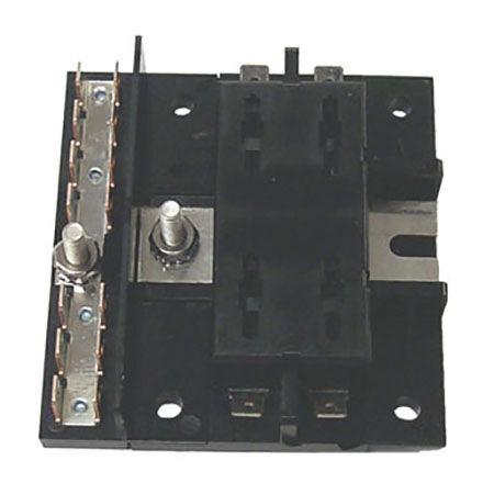 marine fuses overton\u0027ssierra 4 gang fuse block, sierra part fs40430