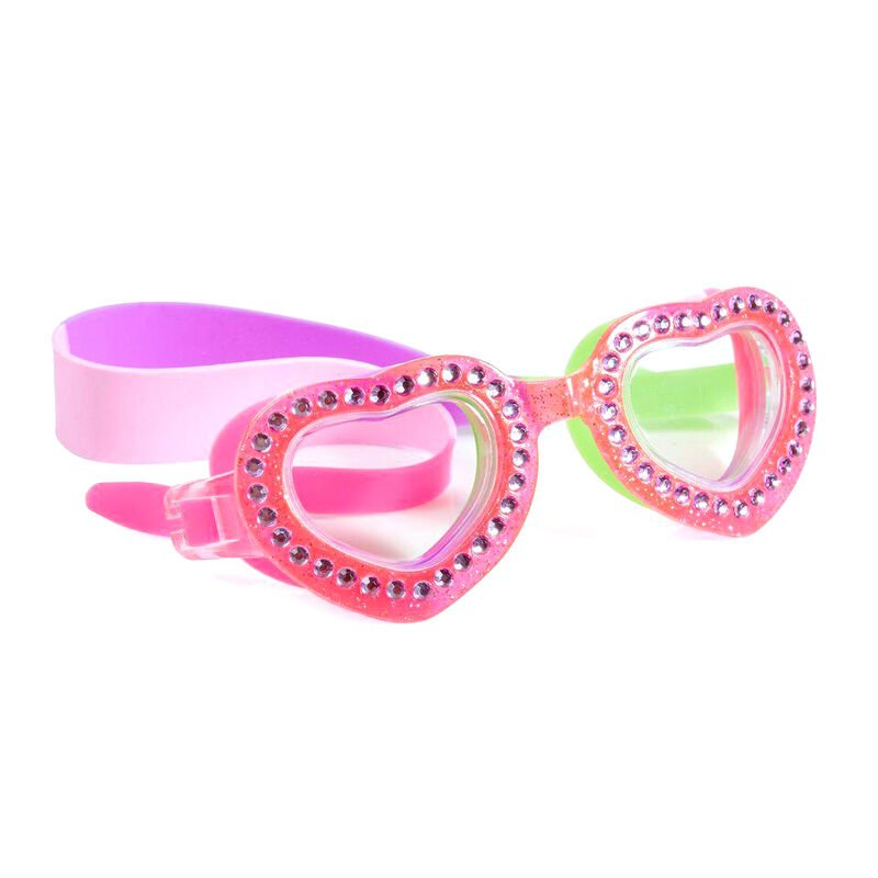 Youth Heart Glitter Goggles image number 1