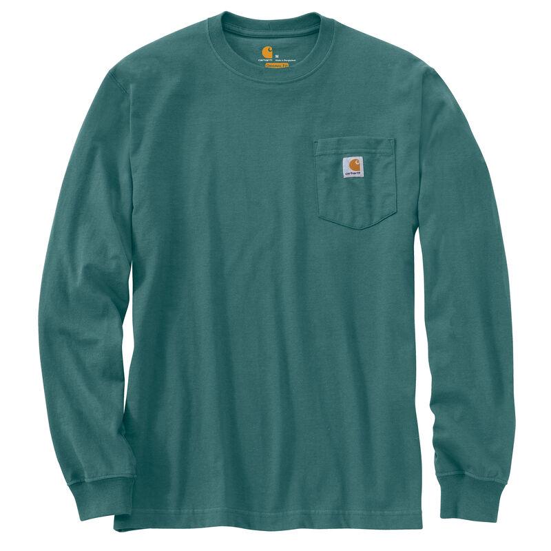 Carhartt Men's Workwear Long-Sleeve Pocket Tee image number 16