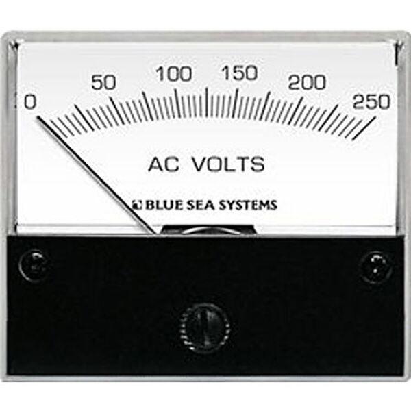Blue Sea AC Analog Voltmeter, 0-150V