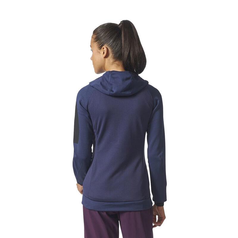 Adidas Women's Terrex Stockhorn Fleece Full-Zip Hoodie image number 11