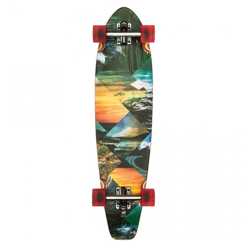 Globe All-Time Longboard Complete Skateboard image number 2