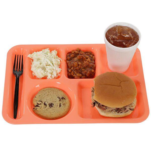 Retro Cafeteria Tray, Melon