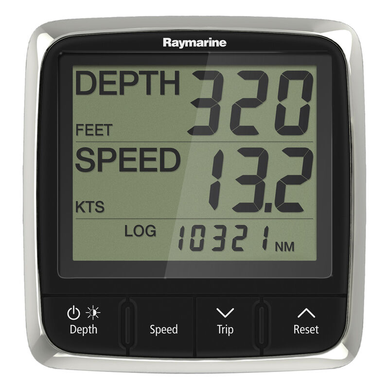 Raymarine i50 Tridata Display System with Thru-Hull Transducers image number 1