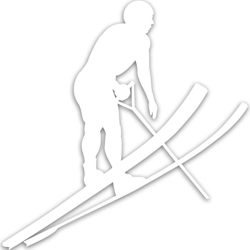 Jump Skier Decal image number 3