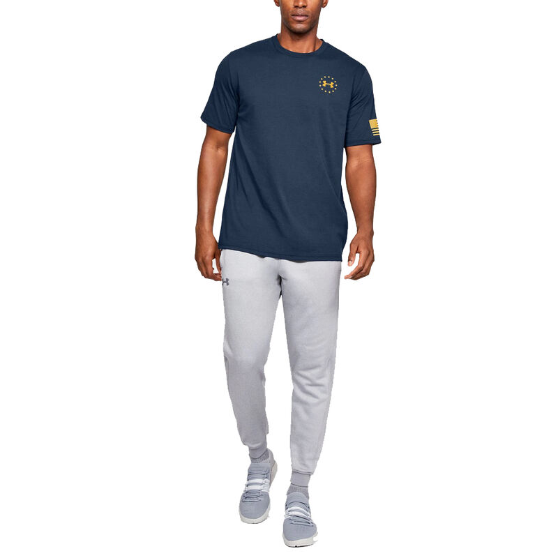 Under Armour Men's Freedom Flag Graphic Tee image number 5