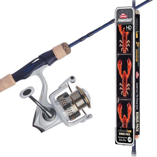 Abu Garcia Max Pro 30 Reel and Fenwick Eagle Rod Spinning Combo