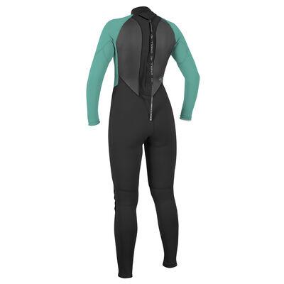 O'Neill Women's Reactor II Full Wetsuit - Black/Aqua - 6