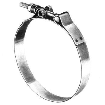 """Sierra 4-1/8"""" T-Bolt Band Clamp, Sierra Part #118-720-4180"""
