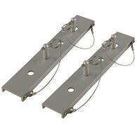 Dock Ladder Quick-Release Mounting Plates, Pair