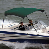 """Shademate Bimini Top Sunbrella Fabric and Boot Only, 3-Bow 6'L, 36""""H, 79""""-84""""W"""
