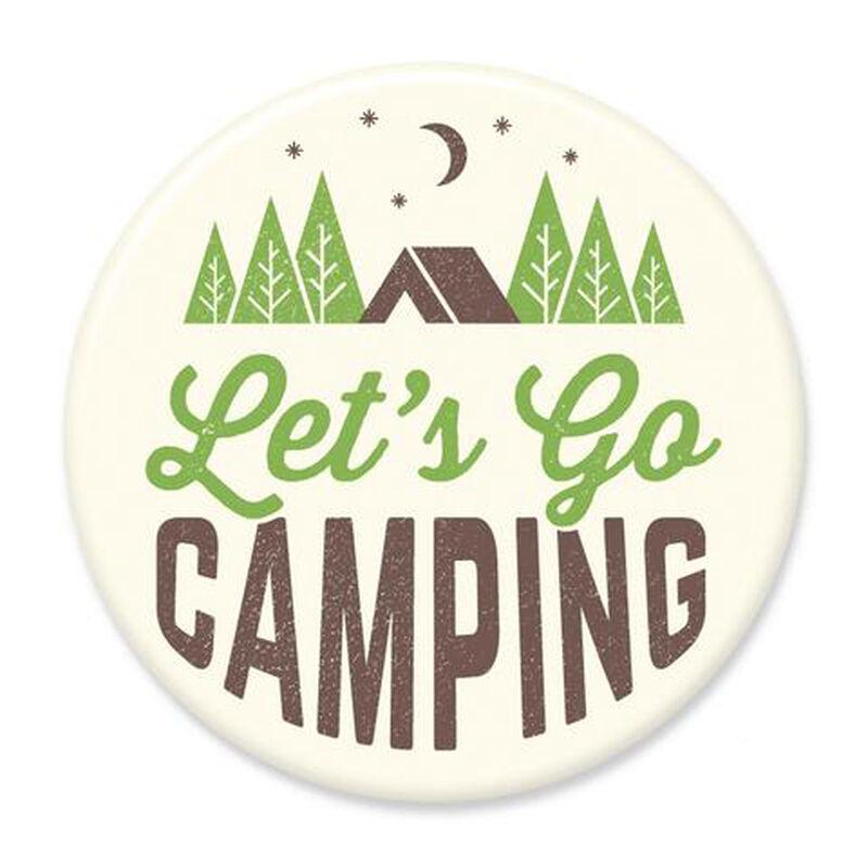 Let's Go Camping Big Magnet image number 1