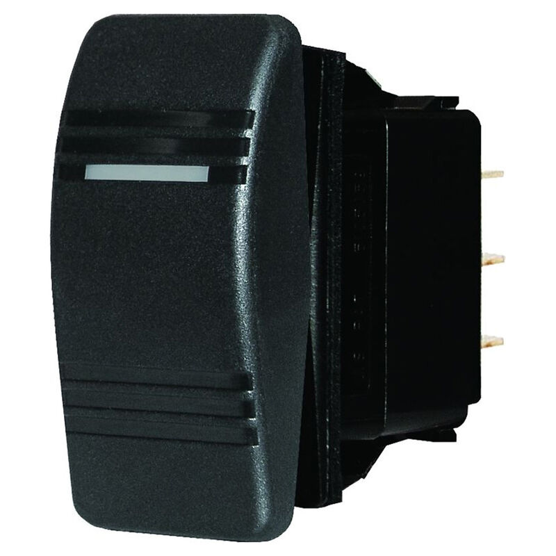 Blue Sea Systems Contura III Switch, SPDT (ON)-OFF-ON image number 1