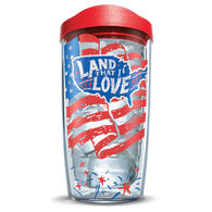 "Tervis 16-oz. Tumbler with Travel Lid, ""Land That I Love"""