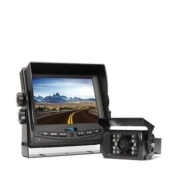 "Rear View Camera System - One Camera Setup with 5.6"" Monitor"