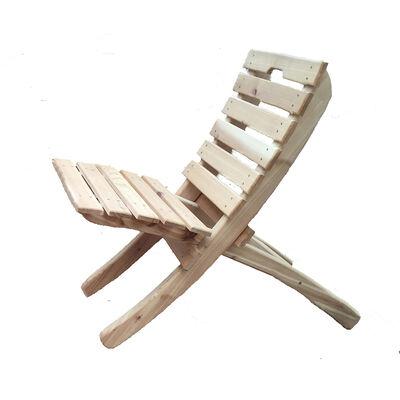 Cedar Wood Throbak Chair