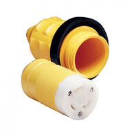 Marinco Female Connector with Cover and Rings