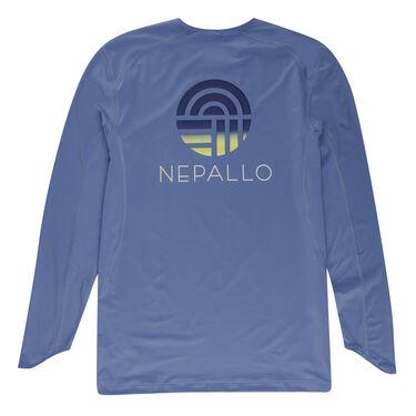 Nepallo Men's Trophy Sun Protection Solid Long-Sleeve Tee