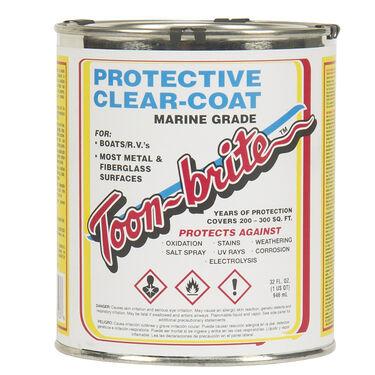 Toon-Brite Protective Clear Coat, Quart