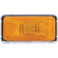 Optronics Trailer Marker/Clearance Light With Chrome Base, Amber