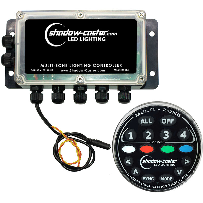 Shadow-Caster Multi-Zone Lighting Controller - 4-Independent Zones image number 1