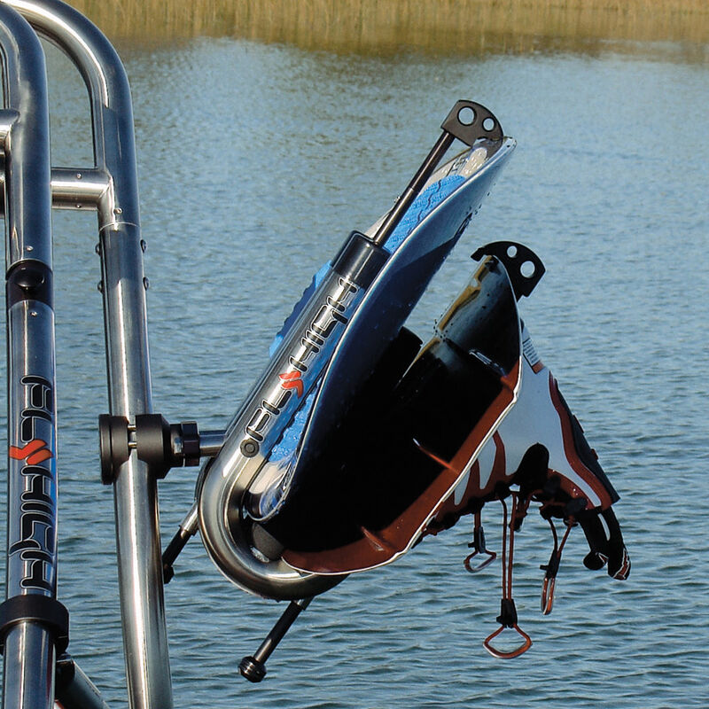 """Fly High Pro X Series Stainless Board Rack, fits 1-7/8"""" - 2"""" dia. tube image number 3"""