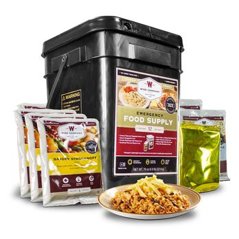 Wise 52-Serving Prepper Pack Emergency Food Supply