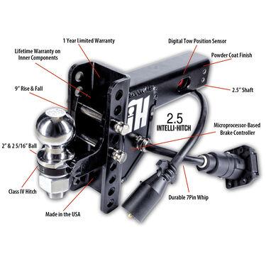 "Intelli-Hitch Trailer Brake Control For 2.5"" Receiver"